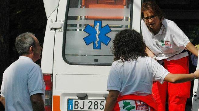 I due coniugi sessantenni sono stati portati all'ospedale di Camerino