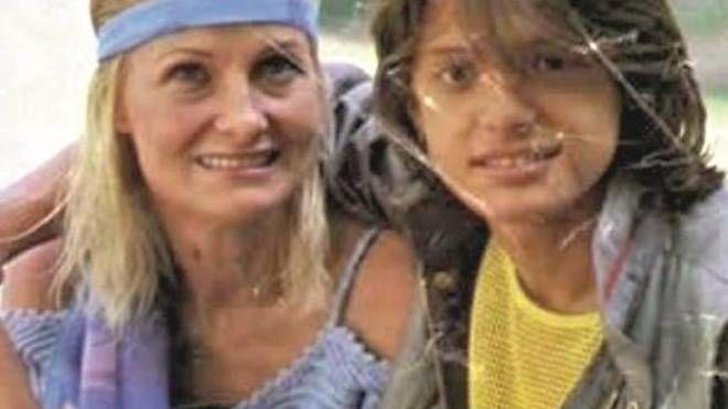 Marcella Basteri e Luis Miguel nel 1986