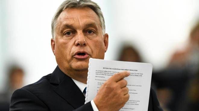 Il primo ministro ungherese Viktor Orban (Ansa)
