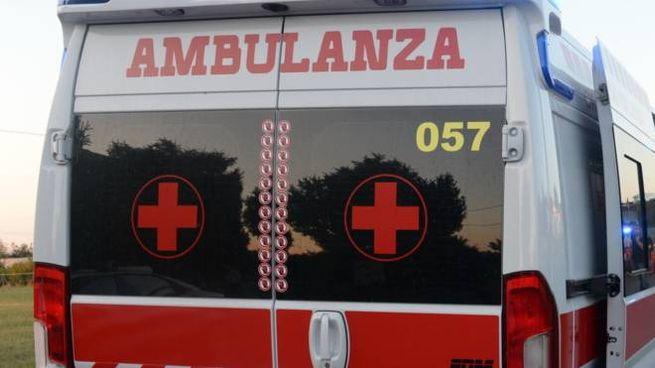 Un'ambulanza ha trasportato la 52enne cesenate  al Bufalini dove è ricoverata