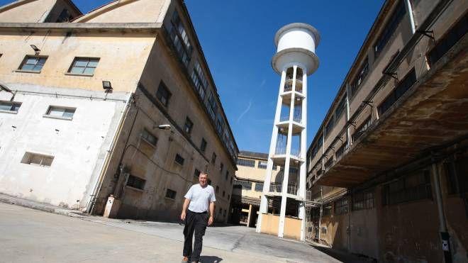 Lo stabilimento ex Seves (New Press Photo)
