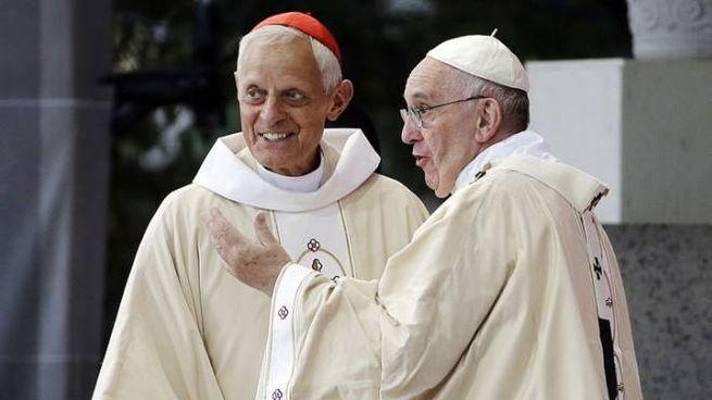 Papa Francesco con Donald Wuerl, arcivescovo di Washington