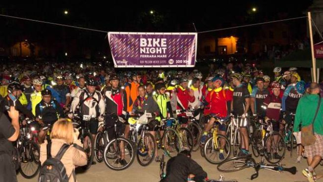 Bike Night 2018, la partenza da Ferrara