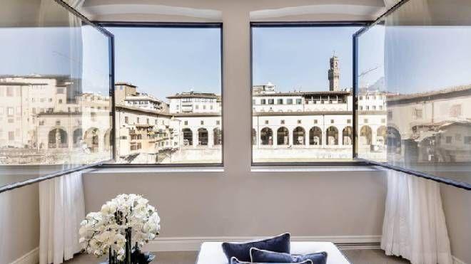 Appartamento con  vista sul Ponte Vecchio