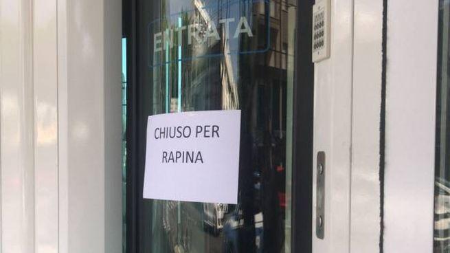 La filiale di Rimini Banca rapinata questa mattina in viale Vespucci