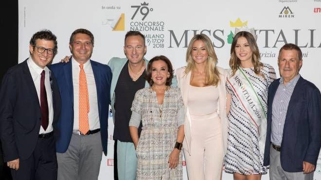 Presentazione di Miss Italia 2018 a MIlano
