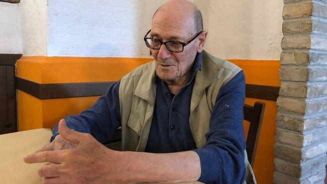 Il marchese Gianfranco Luzi, 81 anni