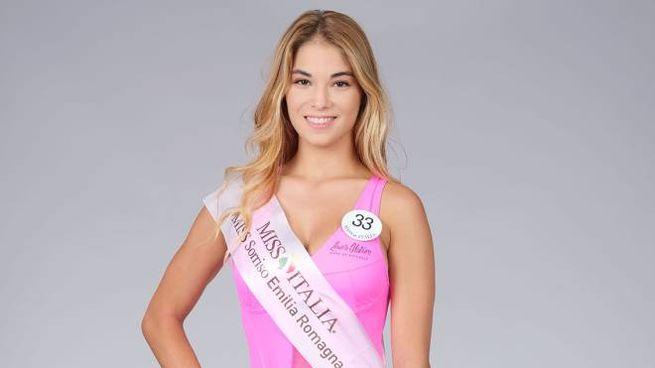 Jessica Poli, numero 33, finalista a Miss Italia