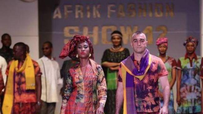 Sfilata di moda afro (Foto Facebook Afro Fashion Week Milano)