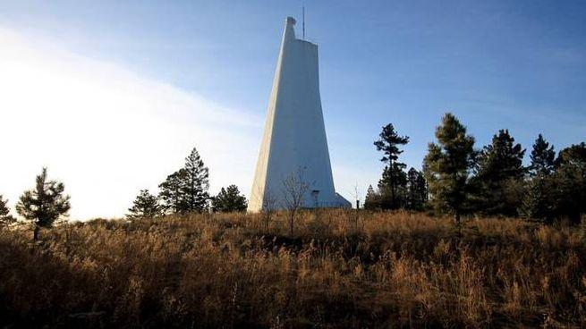 L'Osservatorio solare nazionale di Sunspot in New Messico