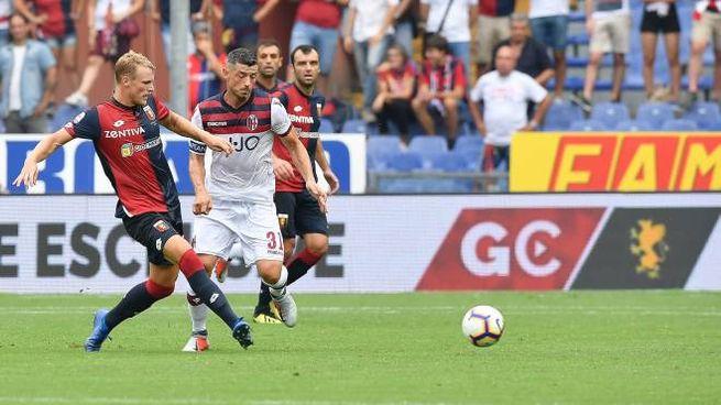 Genoa-Bologna 1-0 (LaPresse)
