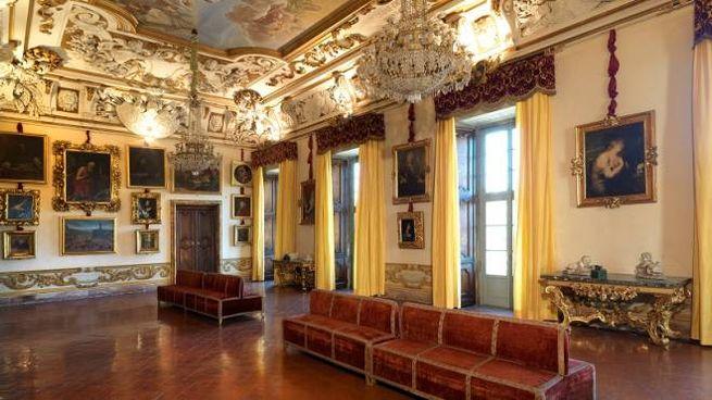Il Salone dell'Apoteosi alla Galleria Corsini
