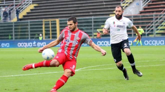 Andrea Brighenti ha finalmente ritrovato la gioia del gol nella partita con lo Spezia
