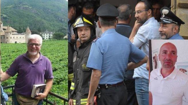 Piero Bruni, Filippo Bagni e la scena della tragedia