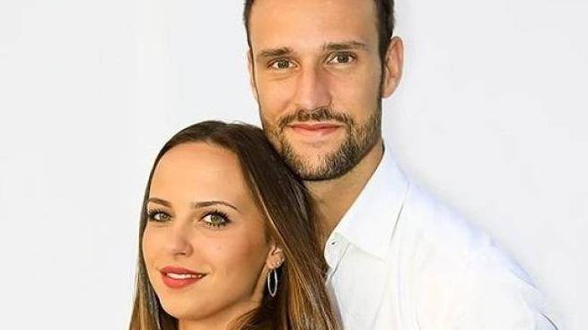 La recanatese Alessandra Sgolastra e Andrea Zenga sono insieme da tre anni