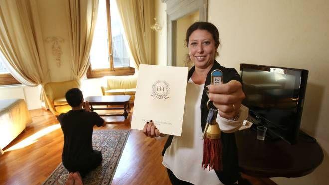 Cresconop le camere di albergo allestite per fedeli musulmani (Marco Mori/New Press Photo)