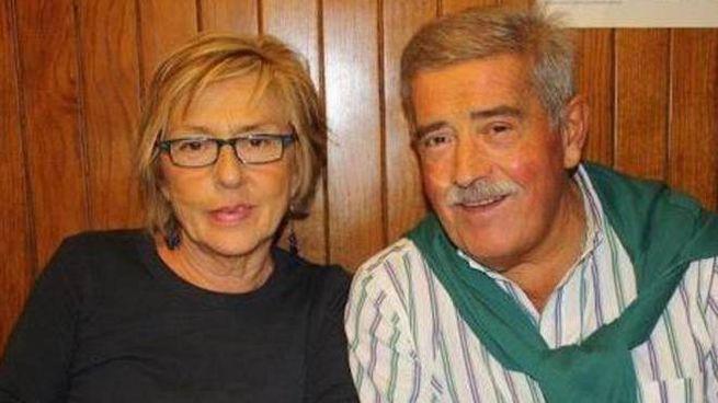 Niva Bazzan e Carlo Martelli (Ansa/Facebook)