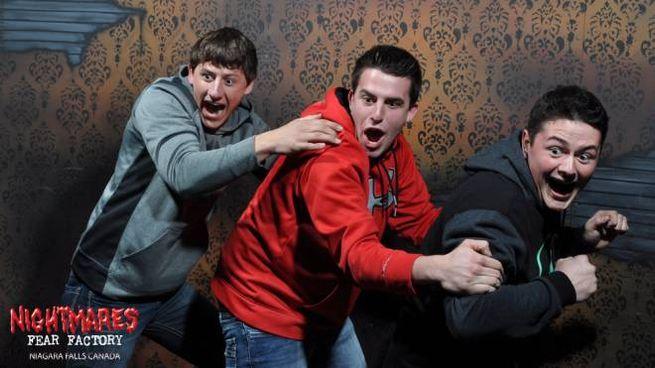 Il terrore dei visitatori della Nightmares Fear Factory - Foto: www.nightmaresfearfactory