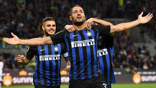 Inter-Fiorentina 2-1 (Ansa)