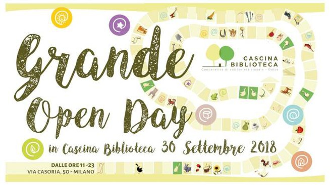 Grande Open Day in Cascina Biblioteca a Milano