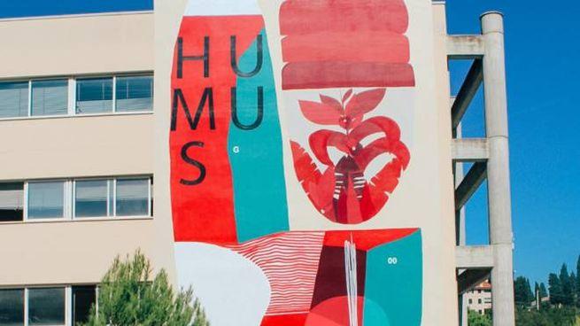 Il murale a Fermo