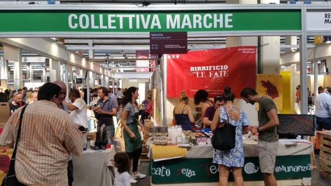 La presenza è stata finanziata dalla Camera di Commercio picena e dalla Regione Marche
