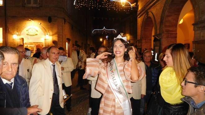 Carlotta Maggiorana a Montegiorgio