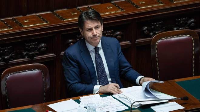 Il premier Giuseppe Conte (Newpress)