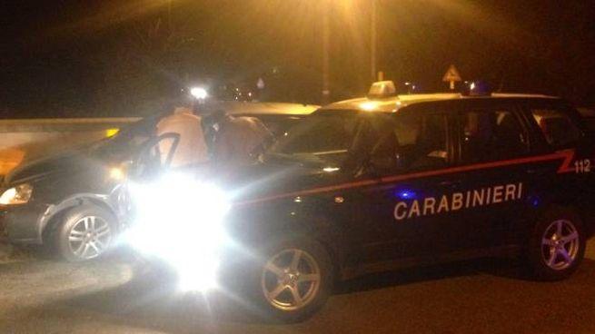 Carabinieri in azione a Robbio