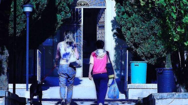 L'entrata del cimitero di Monsummano capoluogo