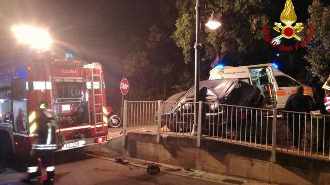Incidente a Capoliveri (foto Vigili del Fuoco)