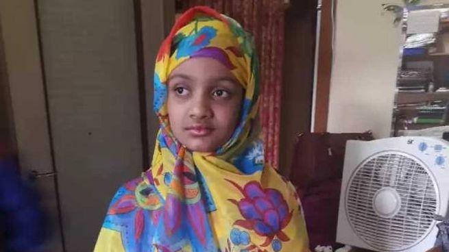 Iushra Gazi, 11 anni