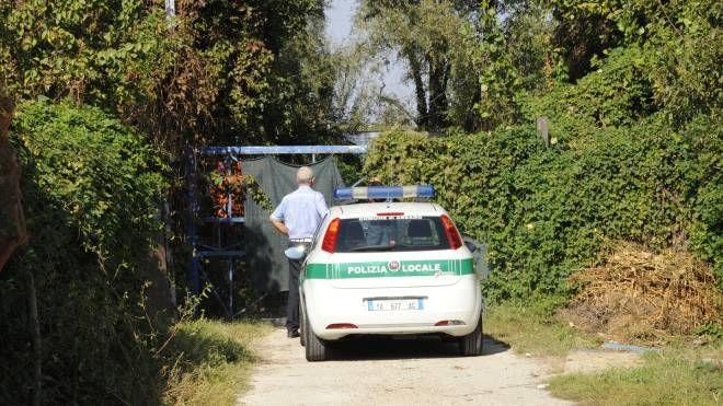 L'area sequestrata in località Cascina Venina (Spf)