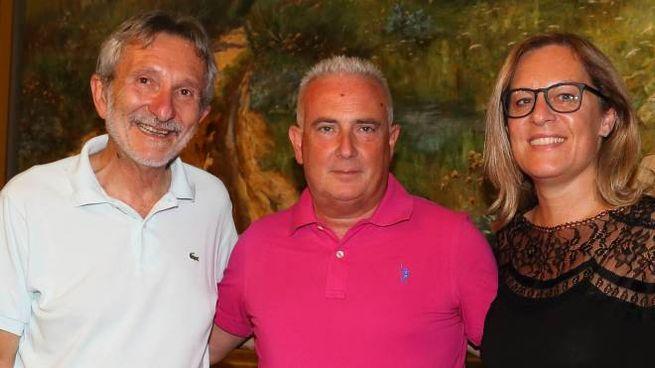 Il sindaco Bellandi, Alessandro Michelotti e Federica Fratoni