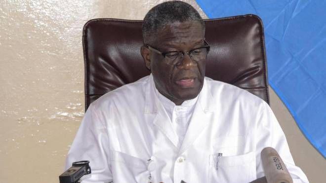 Denis Mukwege, medico congolese Premio Nobel per la pace