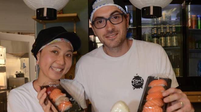 Mario Gavelli e Mie Obinata (foto Frasca)