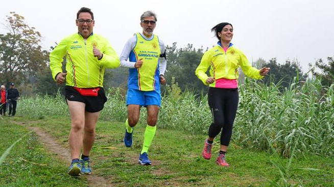 Eco Trail a Carmignano (foto Regalami un sorriso onlus)