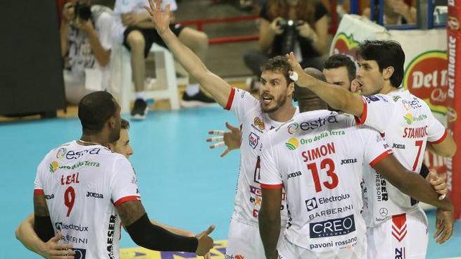 La Lube Civitanova sbanca Perugia: è terza in Supercoppa (Foto Spalvieri)