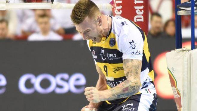 Ivan Zaytsev trascina il Modena Volley alla conquista della Supercoppa Italiana: battuto Trento (Foto Crocchioni)