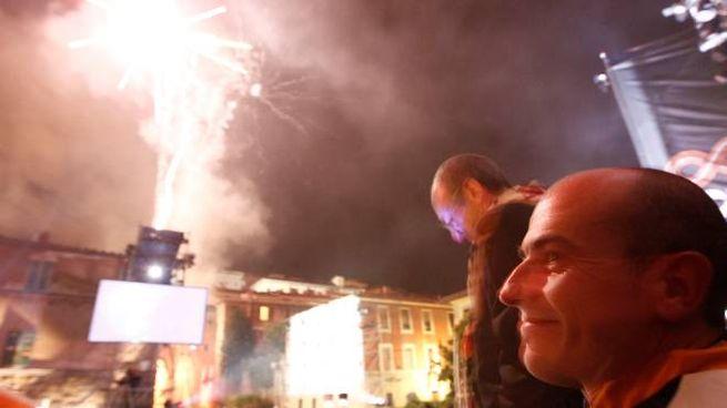 I fuochi d'artificio finali