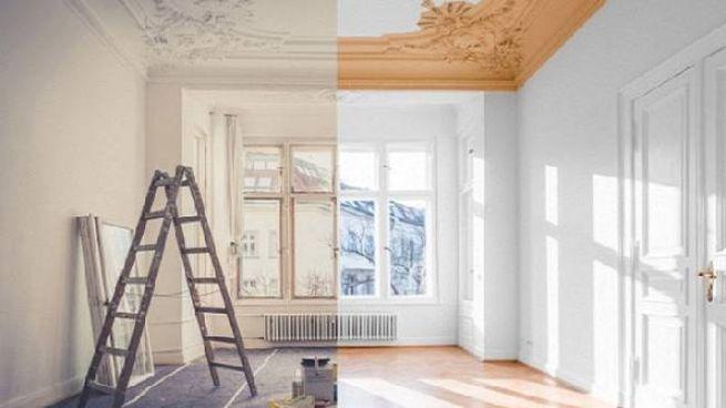 idee per dipingere il soffitto a colori
