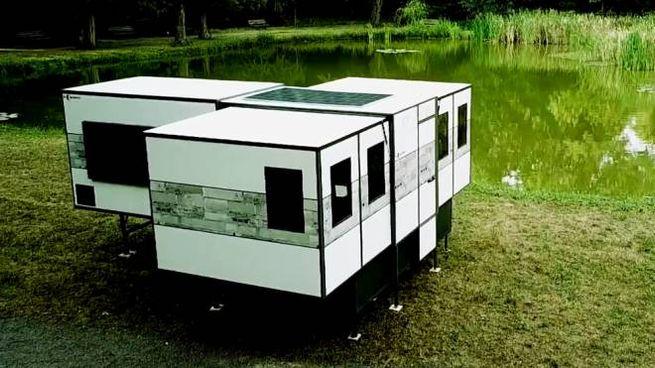 La casa pieghevole da campeggio - Foto: youtube/ioCamper