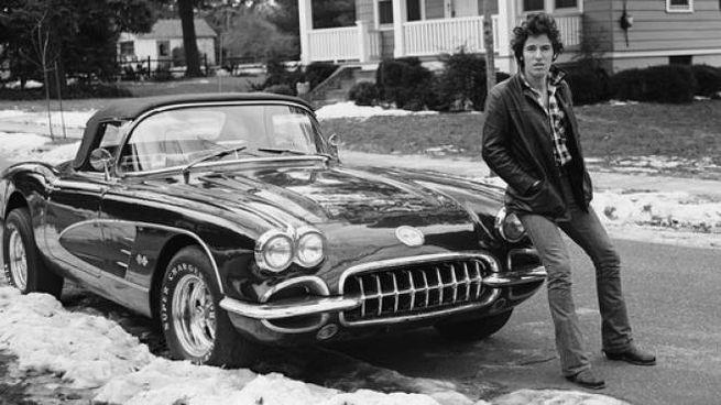 Bruce Springsteen in una foto di Frank Stefanko