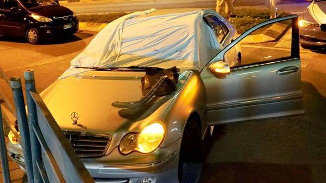La Mercedes del pensionato (foto De Marco)