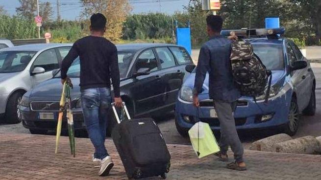 I profughi hanno portato via tutte le loro cose