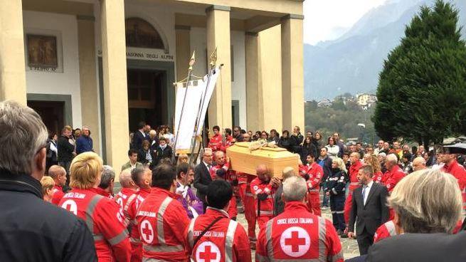 Il funerale di Franco Ferrari (National Press)
