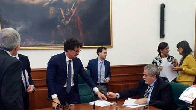 L'incontro a Roma con il ministro Danilo Toninelli