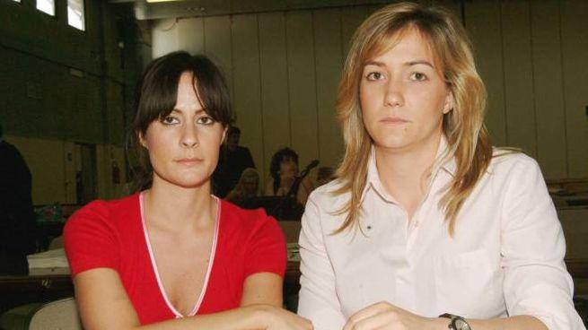 398c351722 Le figlie di Patrizia Reggiani e Maurizio Gucci, Alessandra e Allegra