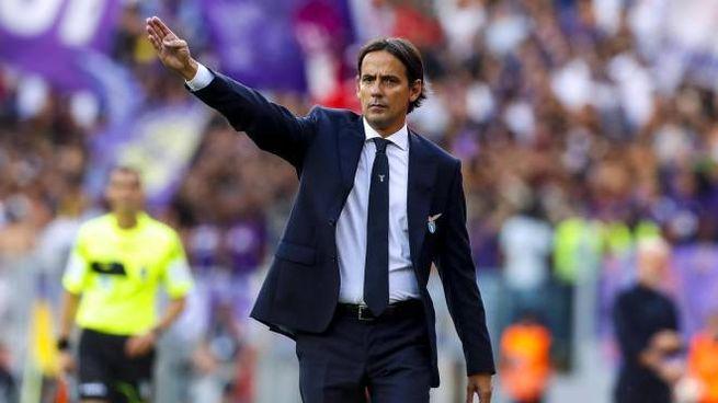 Simone Inzaghi, tecnico della Lazio (Ansa)