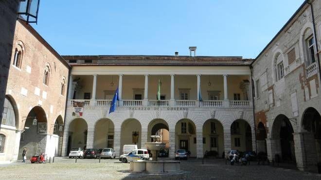 Palazzo Broletto, sede dell'amministrazione provinciale